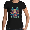 Viking Female Warrior - Womens Premium Crew T-Shirt