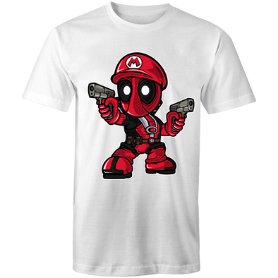 Mario Deadpool - Adults Premium T-Shirt