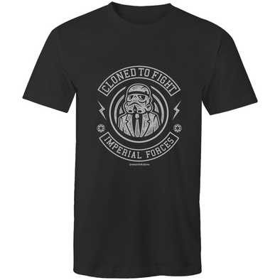 Cloned to Fight - Adults Premium T-Shirt