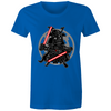 Darkside Samurai - Womens Crew T-Shirt