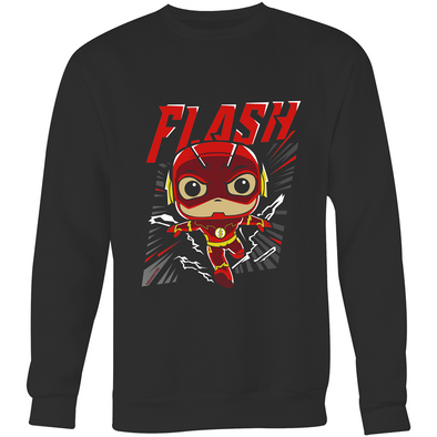 Flash - Adults Premium - Crew Neck Jumper