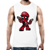 Mario Deadpool - Adults Premium Tank Top Tee