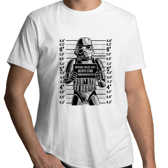 Trooper Mugshot - Adults Premium T-Shirt
