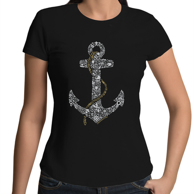 Anchor - Womens Premium Crew T-Shirt