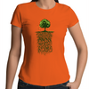 Know Your Roots - Womens Premium Crew T-Shirt