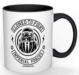 Cloned to Fight Mug