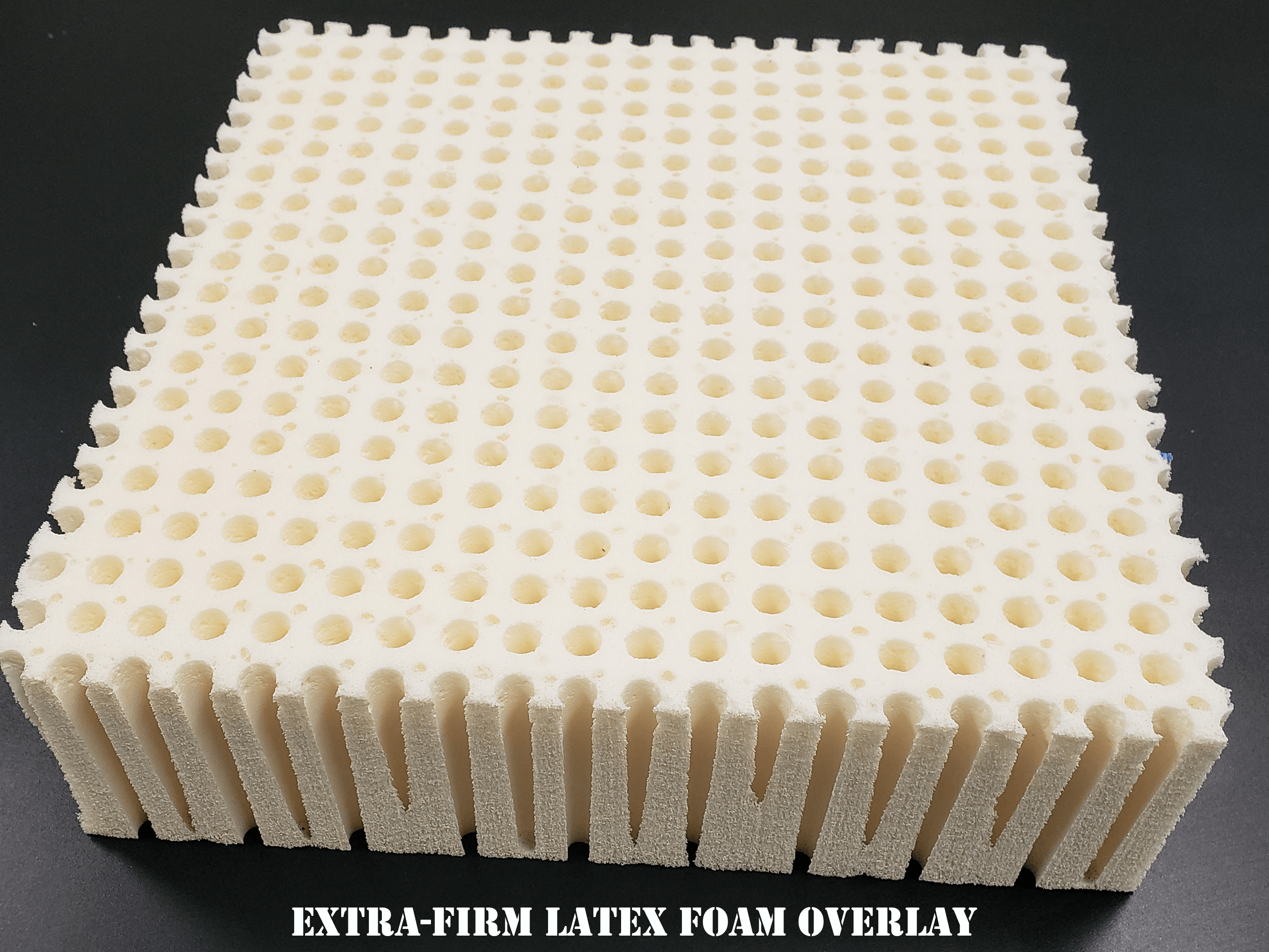 "2"" Extra-Firm Latex Foam Overlay"