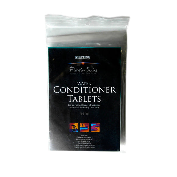 Water Conditioner Tablets (for Shallow Fill Waterbeds) - Sterling Sleep Systems