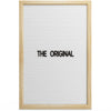THE ORIGINAL - White (12x18)