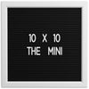 THE MINI - Black (10x10)