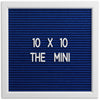THE MINI - Blue (10x10)