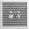 THE MINI - Grey (10x10)