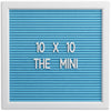 THE MINI - Light Blue (10x10)