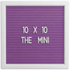 THE MINI - Purple (10x10)