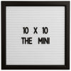 THE MINI - White (10x10)