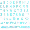 Letters - Light Blue (3/4 Inch)