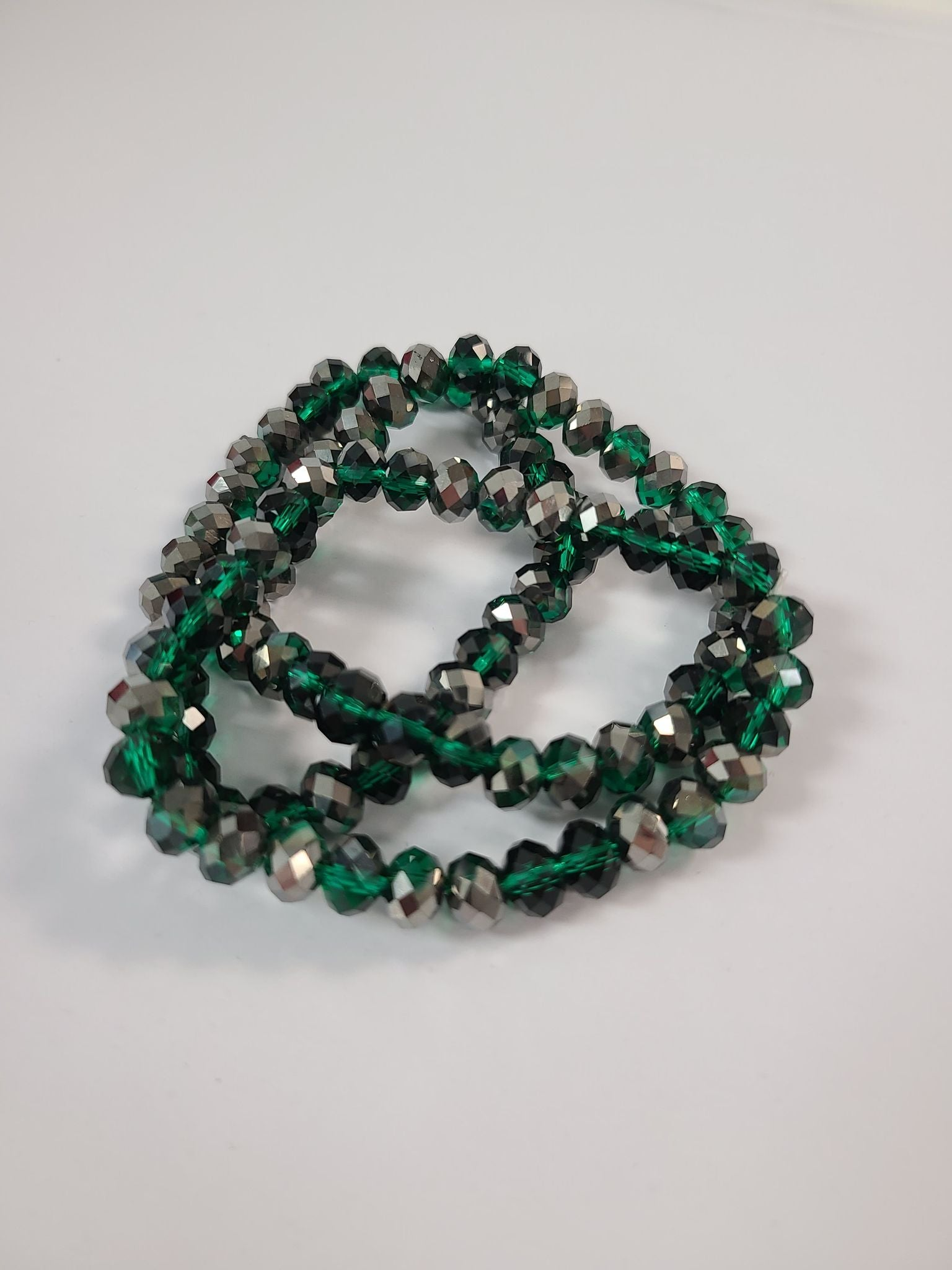 B122 Sparkle Stack Strand - Leprechaun Twist