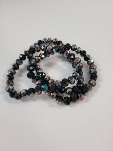B126 Sparkle Stack Strand - Black Tie Event
