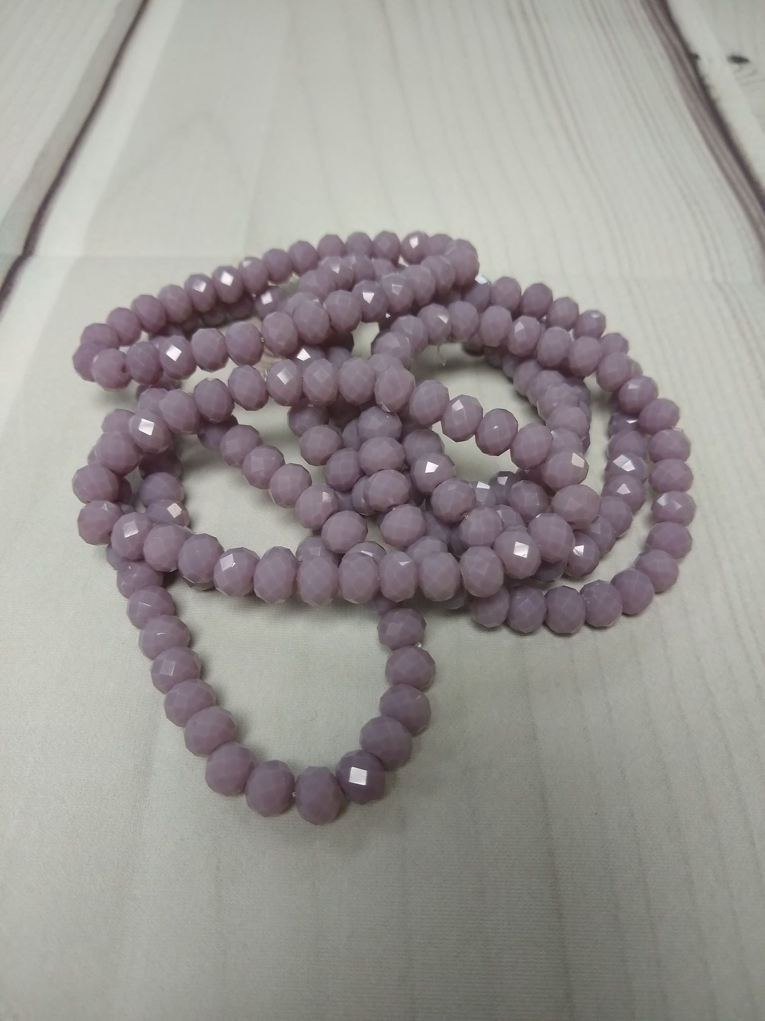 A125 Sparkle Stack Strand - Lilac