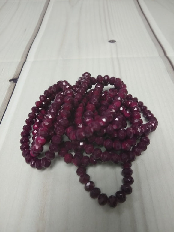 A126 Sparkle Stack Strand - Plum