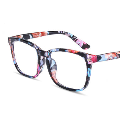 Blue Blocker Glasses - Floral