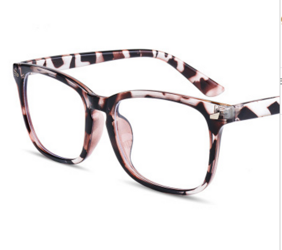Blue Blocker Glasses - Leopard