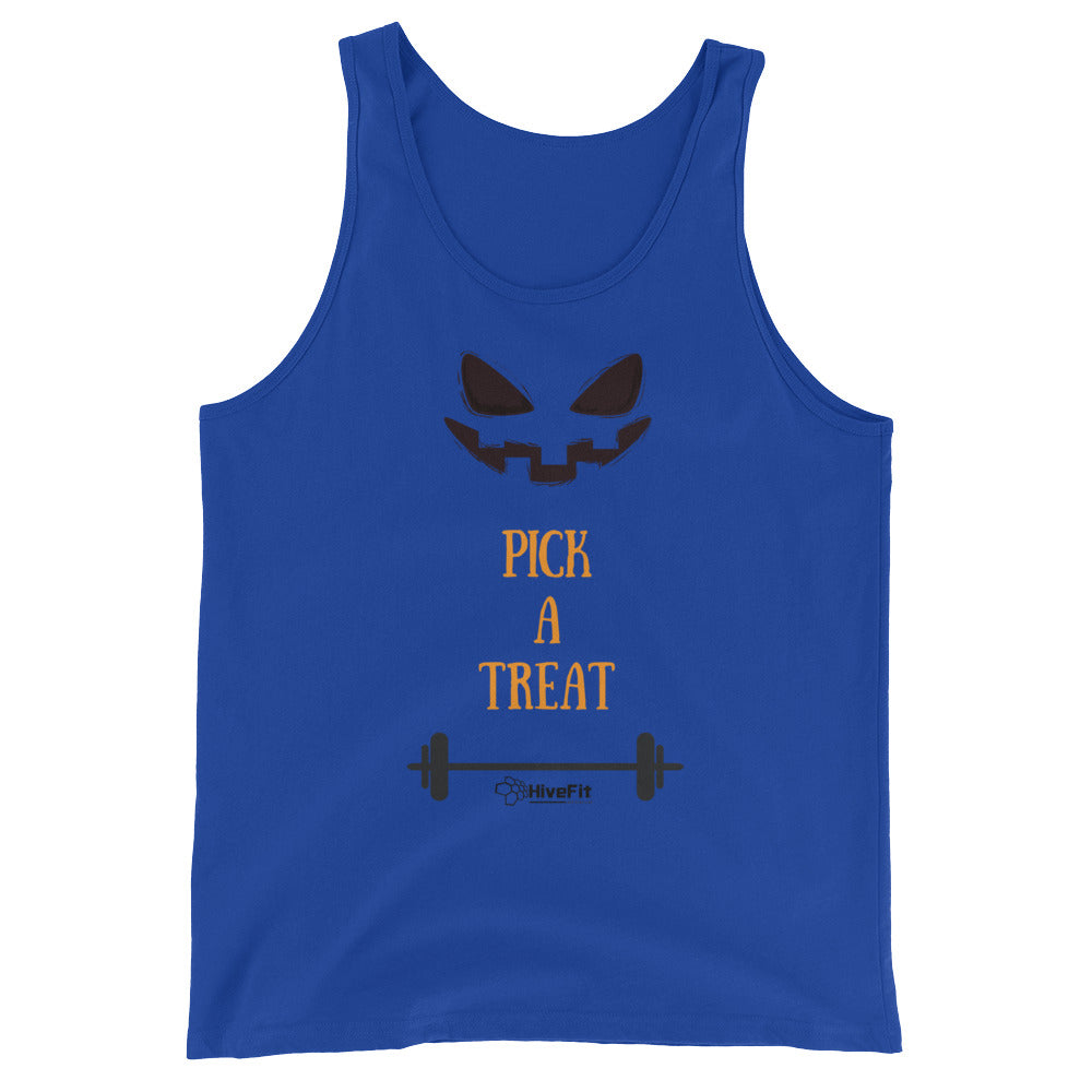 Pick A Treat Halloween Tank Top - Unisex