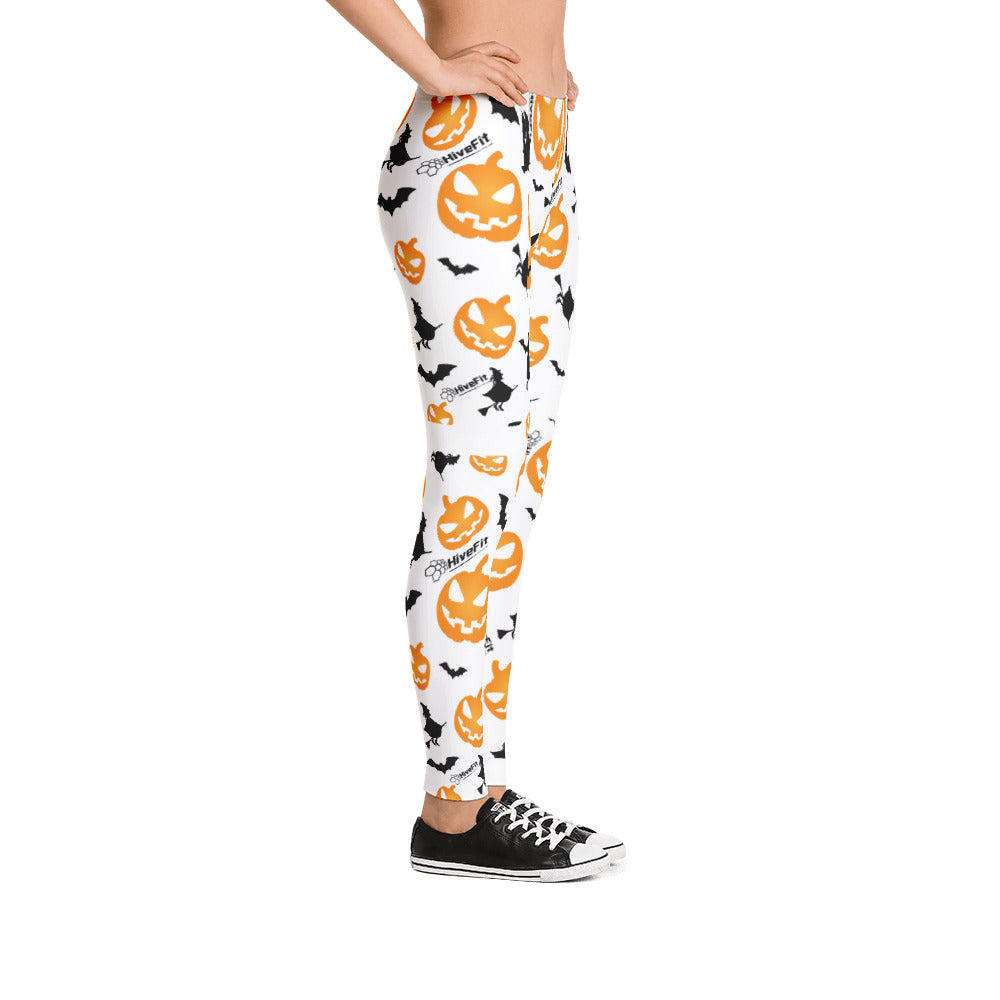 Pumpkins & Witches Leggings