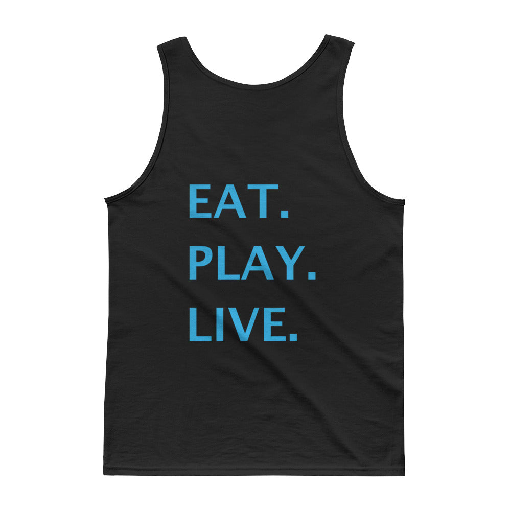 Eat.Play.Live. Tank Top - BLACK
