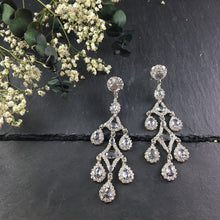 PP2345AE CRYSTAL CHANDELIER EARRINGS