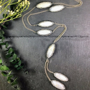PP2523B WHITE MOTHER-OF-PEARL CHAIN
