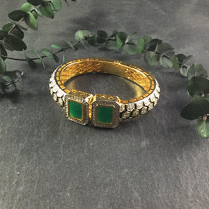 RS152CB TIGER BRACELET GREEN DELICATE