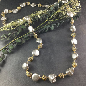 TD822 GLAMOUR BAROQUE NECKLACE