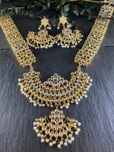 RS247 KUNDAN BRIDAL SET