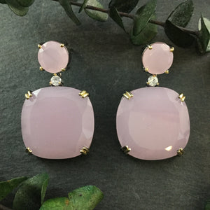 PP3039 Rose Quartz Earrings