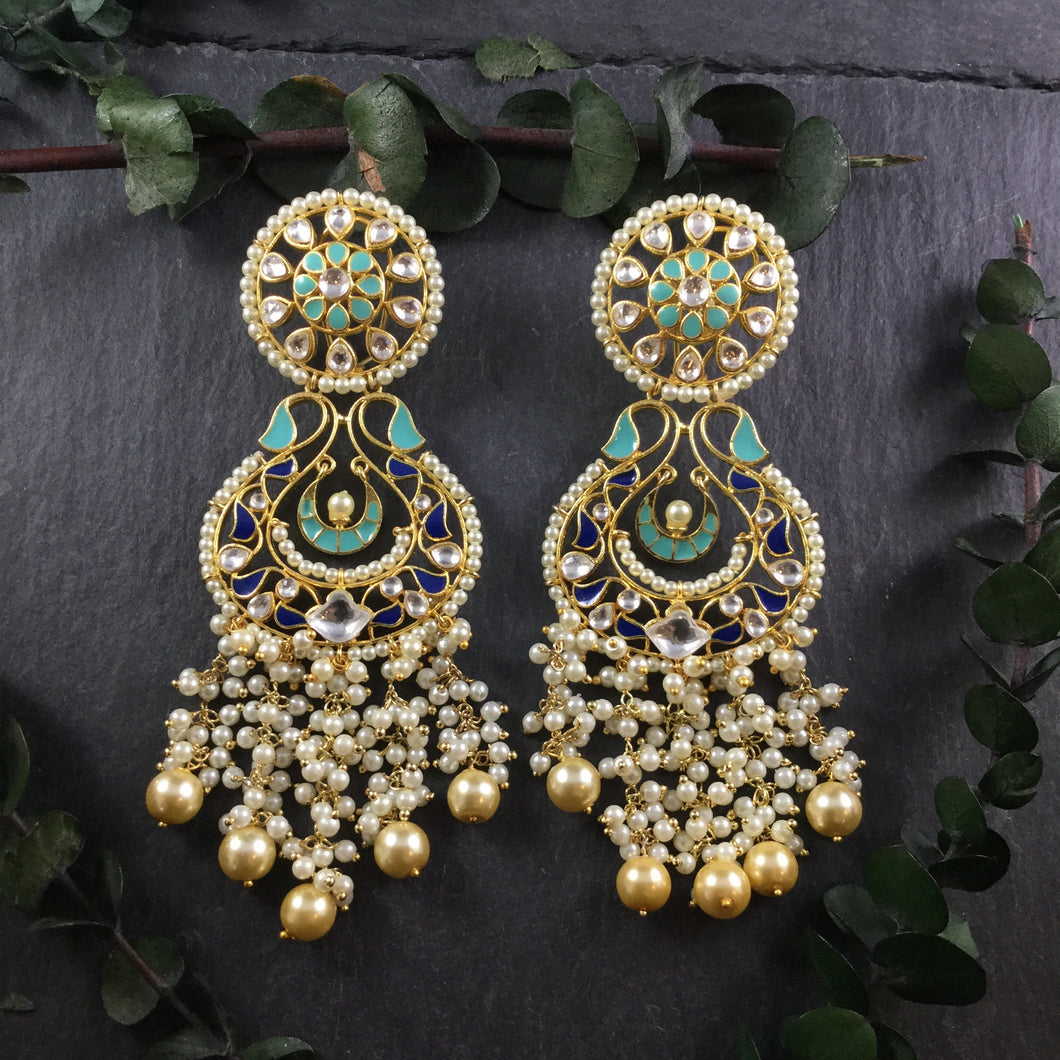 GA66 EARRINGS TURQIOISE