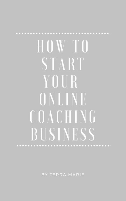 How To Start Your Online Coaching Business