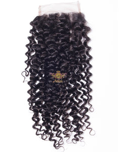 "$15+ | 100% Virgin Human hair 4x4 lace Closure 8-24"" inches avail"
