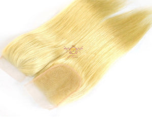 "$28+ | 100% Virgin Human hair 4x4 lace Closure 8-22"" inch"