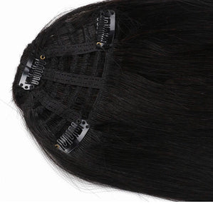 Atási 100% clip in human hair bangs