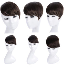 Human Hair Clip On Fringe Bangs