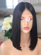 Atási 4x4 100% Human hair  lace closure bob wig $85