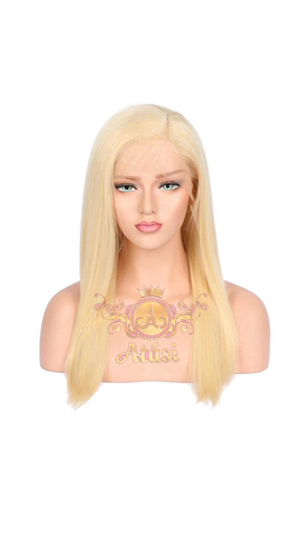 From $70+ | 100% Human Virgin Hair | #613 blonde lace frontal wig