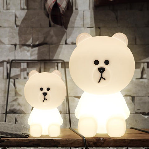 Big Bear Led Night Light Lamp - Kids Nightlight - Just Kidding Store