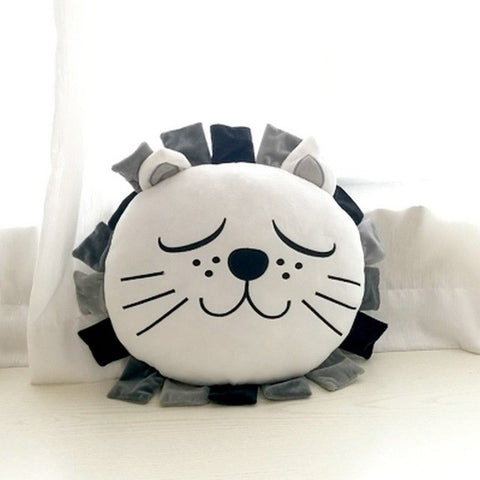 Sleepy Lion Plush Cushion - Just Kidding Store