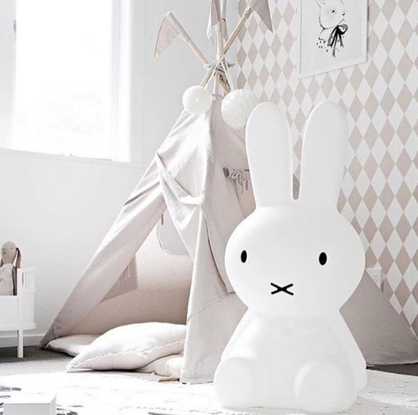 Miffy Lamp - Kids Bunny LED Night Light - Table Floor Lamp  - Just Kidding Store