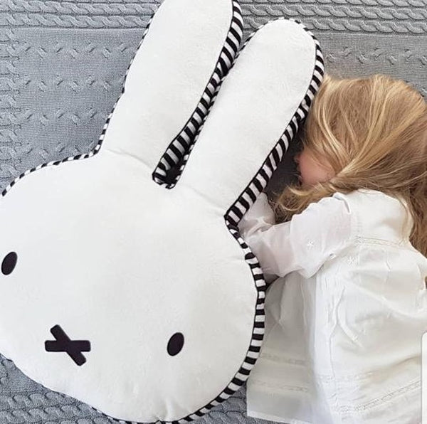 Miffy Pillow - Kawaii Bunny Cushion - Just Kidding Store