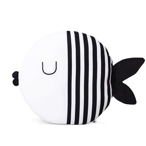 Sleepy Fish Pillow - Kids Cushion