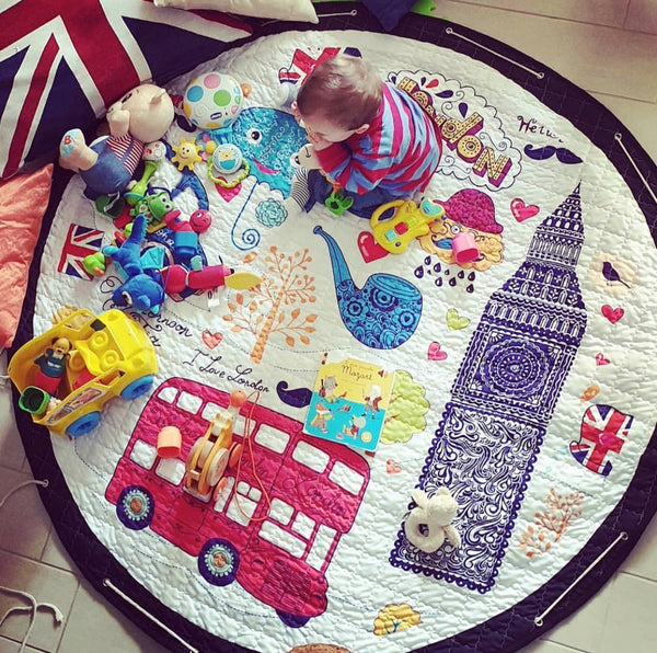 Activity Play Mat - Toy Storage - London - Just Kidding Store