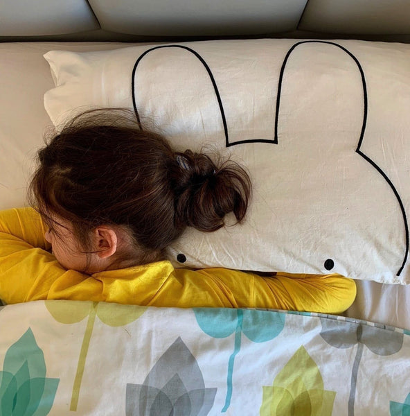 Miffy Pillow Cover - Kawaii Bunny Pillowcase - Just Kidding Store